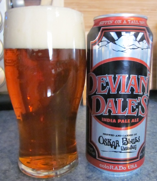 Oskar Blues Brewing's Deviant Dale's IPA