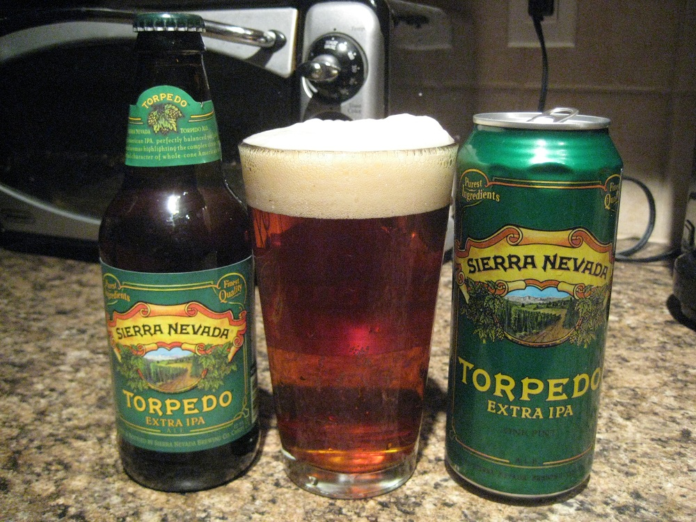 Budget: Sierra Nevada Brewing Company Torpedo (In a Can!)