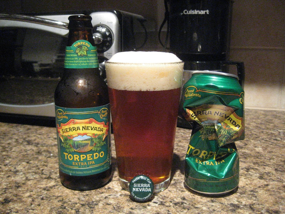 Budget: Sierra Nevada Brewing Company Torpedo (Bottle Redemption)