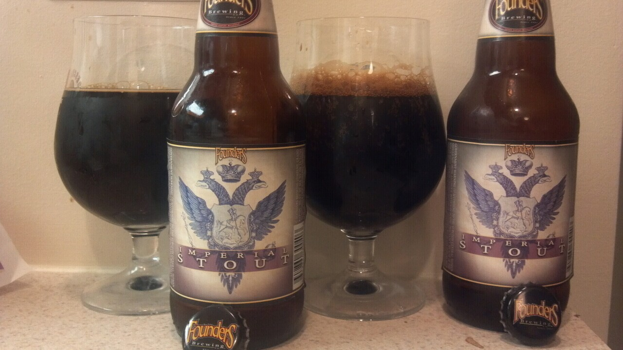 Cellar: Founders Imperial Stout