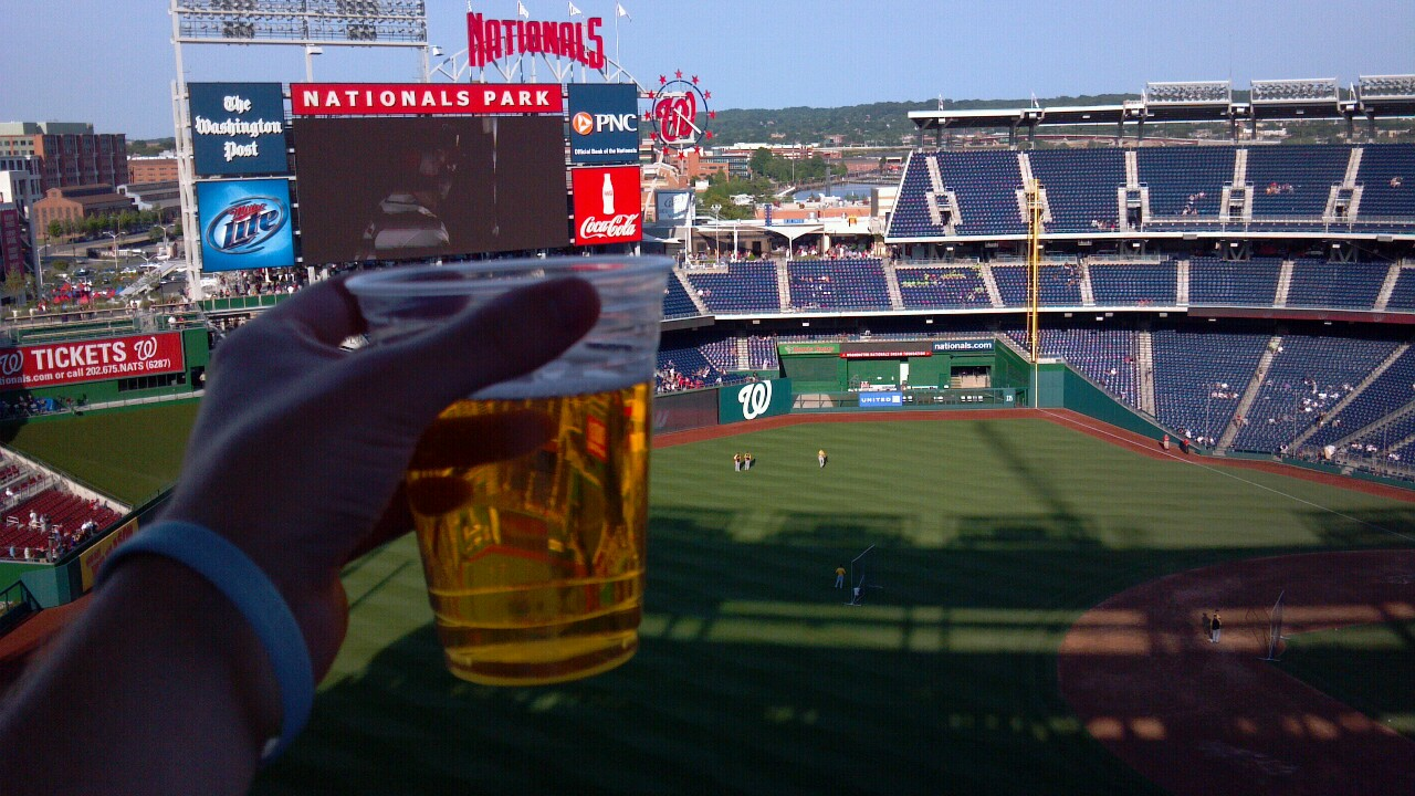 Beer at the Ballpark: Nationals Park