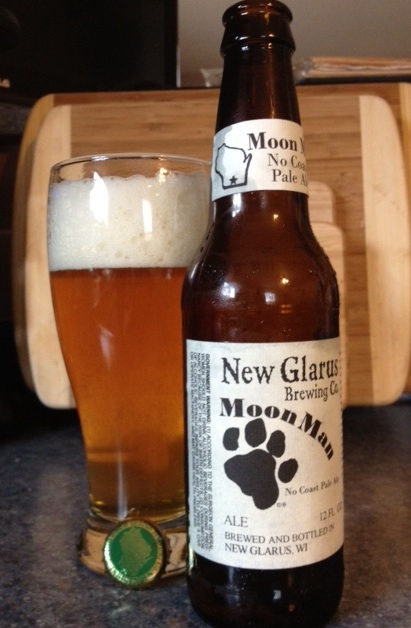 New Glarus Brewing Company's Moon Man No Coast Pale Ale