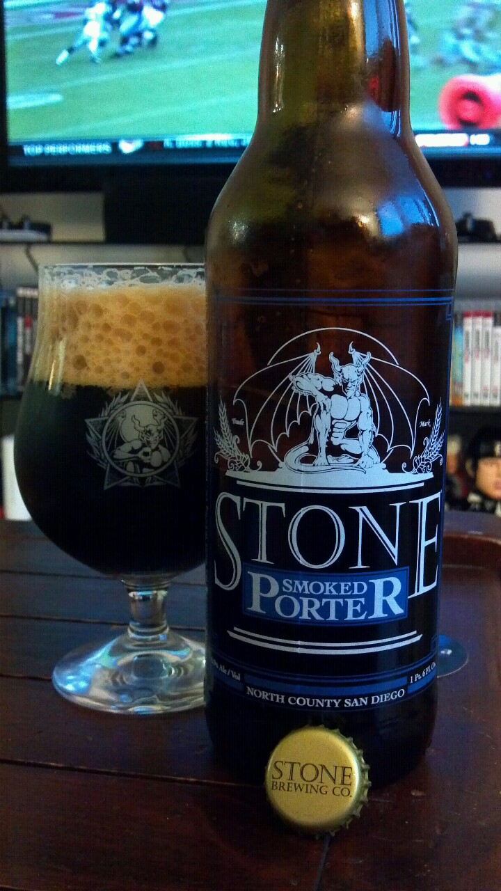 Stone Smoked Porter: Original, Vanilla Bean, or Chipotle Peppers?
