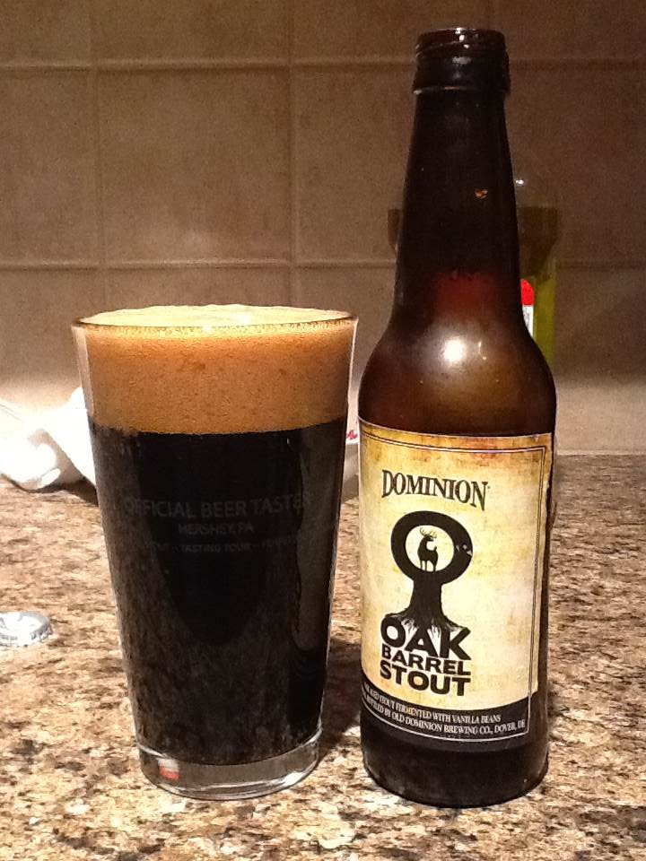 Budget: Dominion Oak Barrel Stout