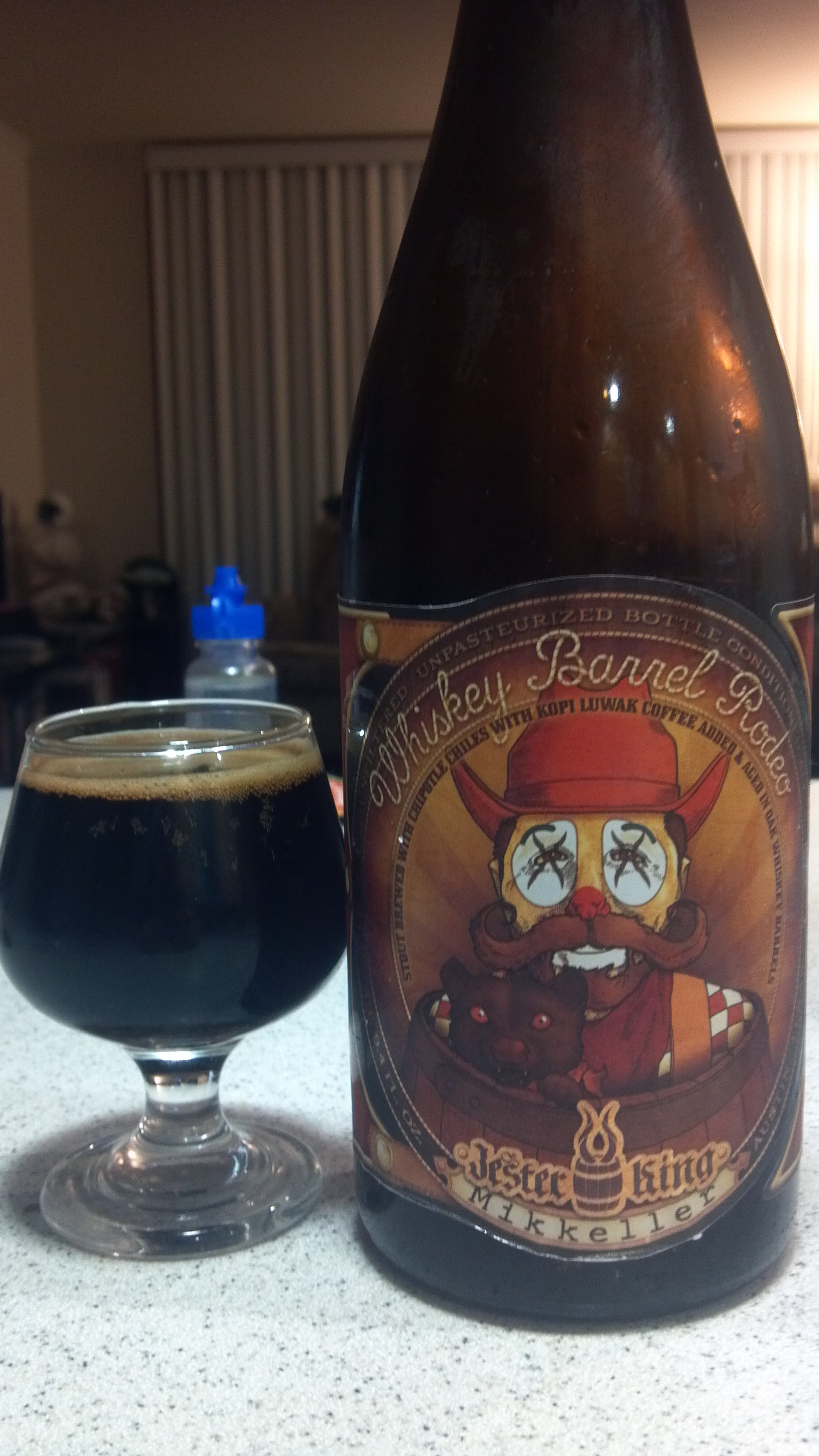 Jester King's Whiskey Barrel Rodeo