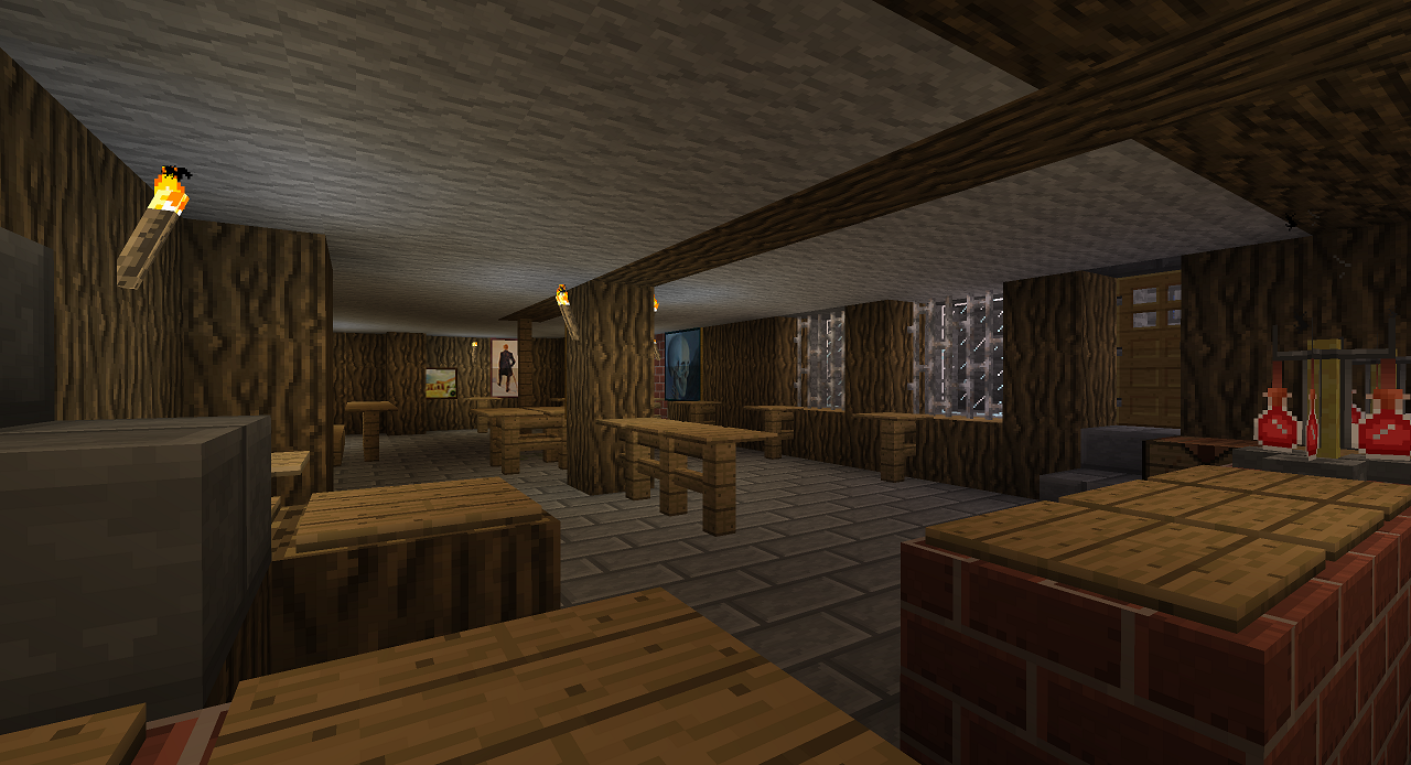 Our Favorite Bar in Blocks: Recreating Zeno's Pub in Minecraft