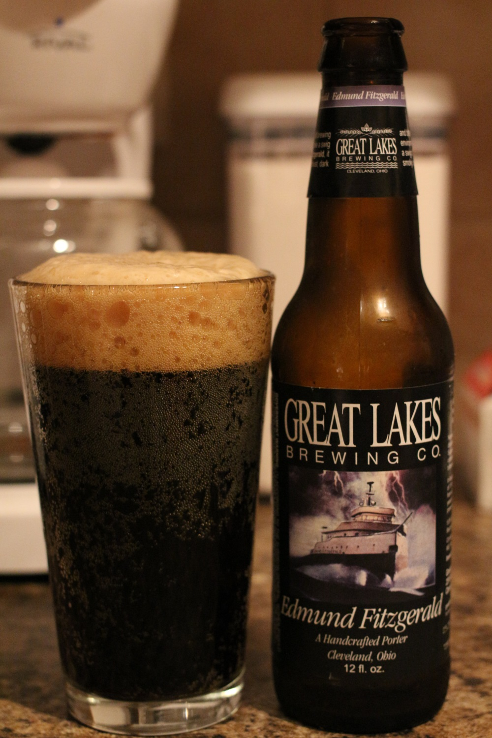 Budget: Great Lakes Brewing Company – Edmund Fitzgerald Porter