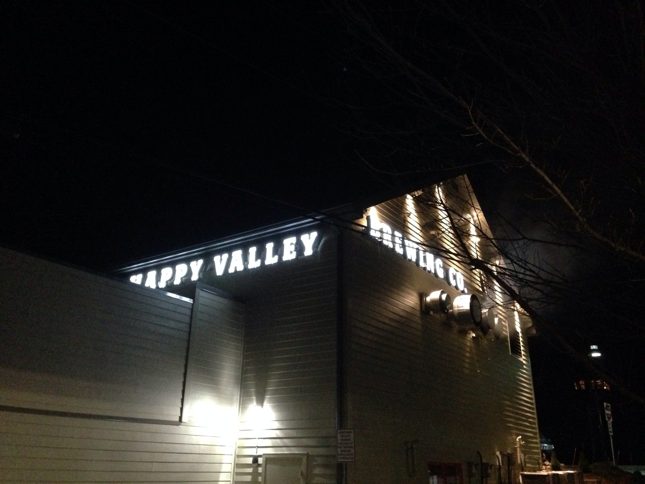 Happy Valley Brewing Company's Bitter Cold Start